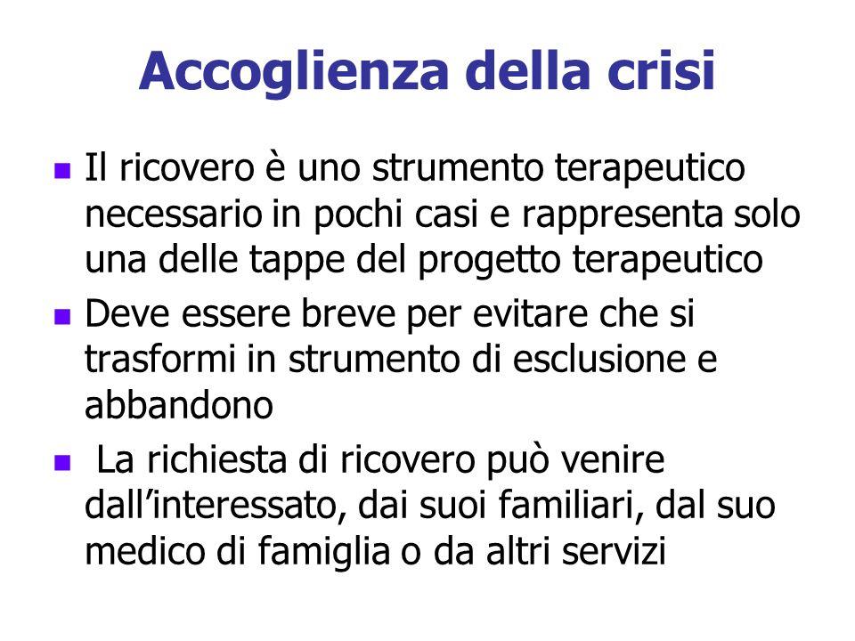 Accoglienza della crisi