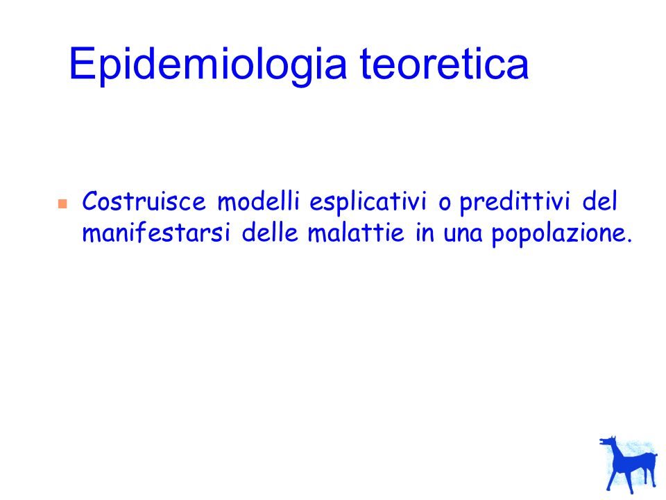 Epidemiologia teoretica