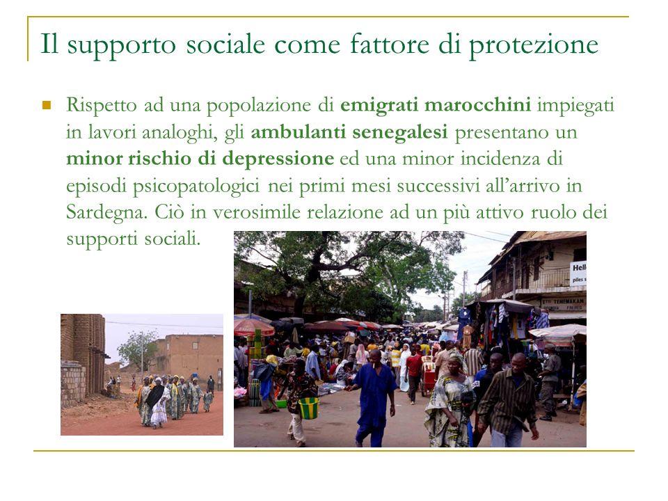 Il supporto sociale come fattore di protezione