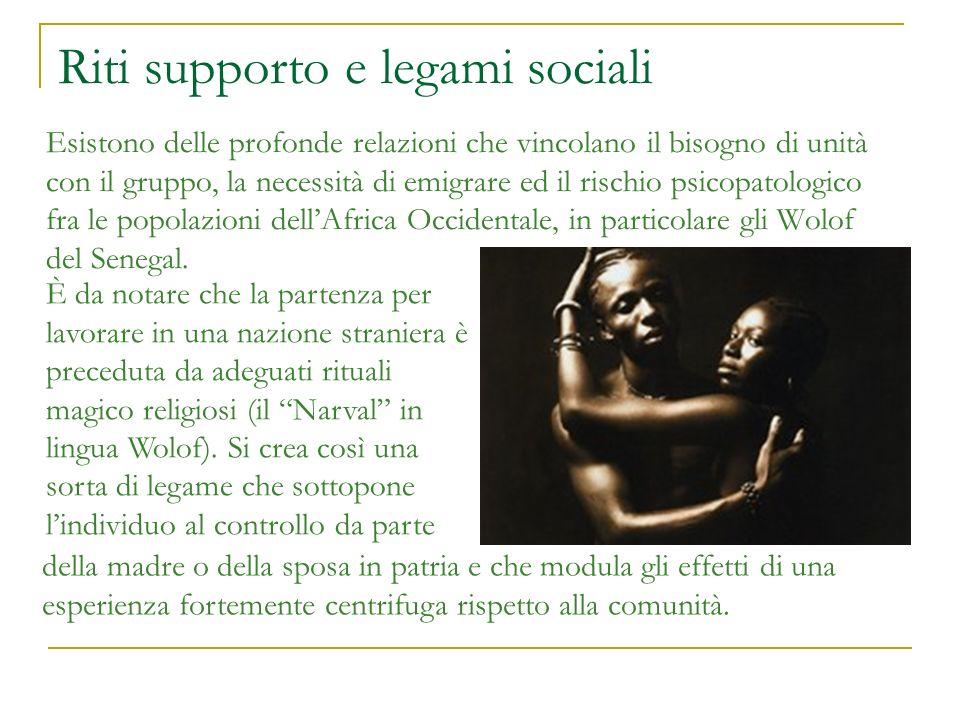 Riti supporto e legami sociali