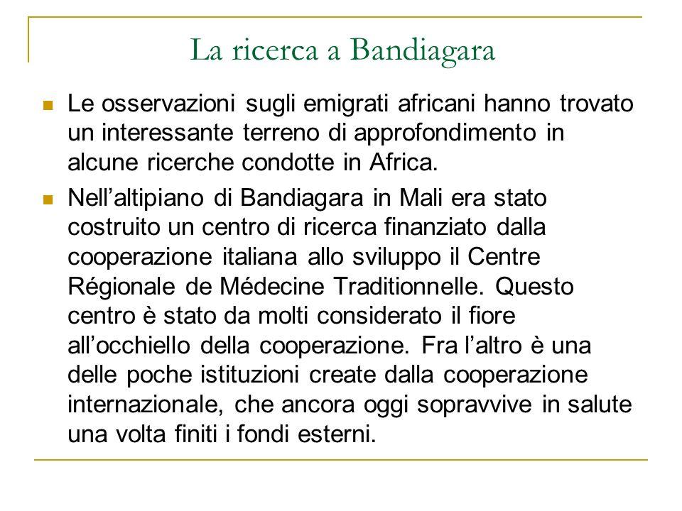 La ricerca a Bandiagara