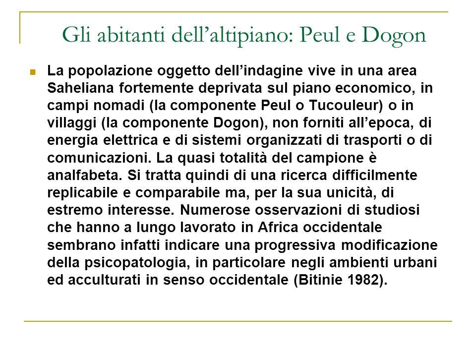 Gli abitanti dell'altipiano: Peul e Dogon