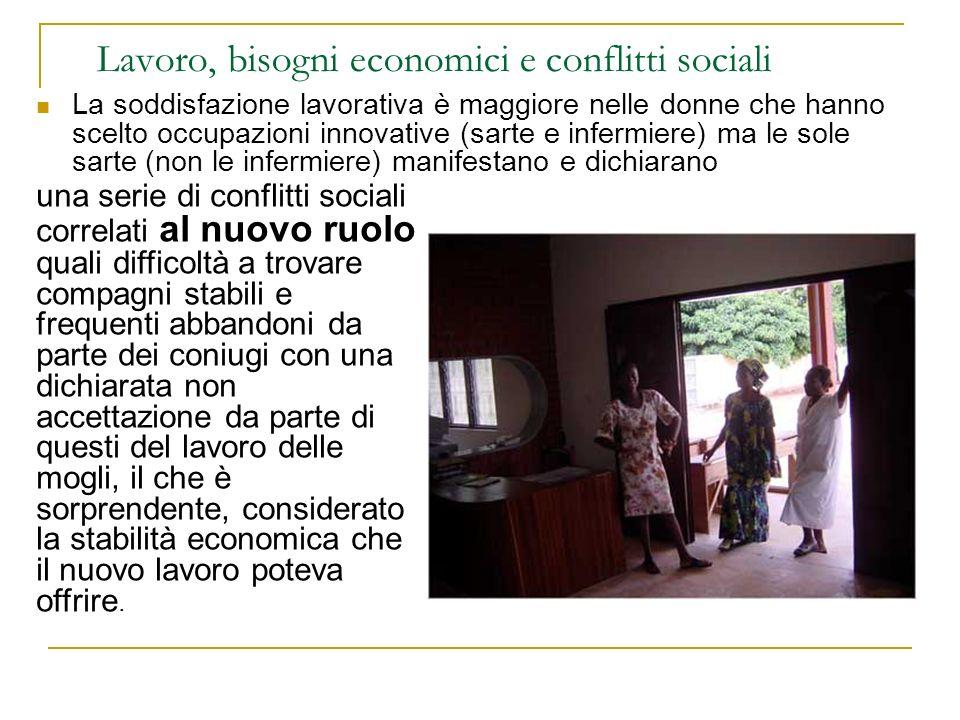 Lavoro, bisogni economici e conflitti sociali