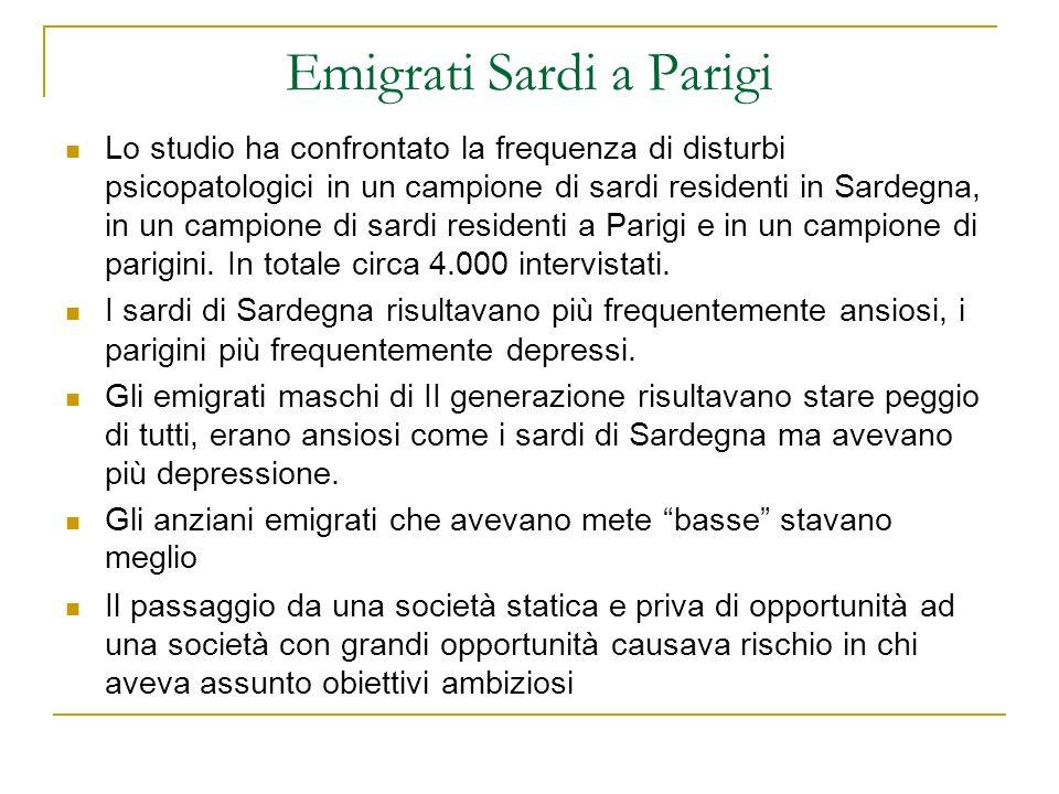 Emigrati Sardi a Parigi