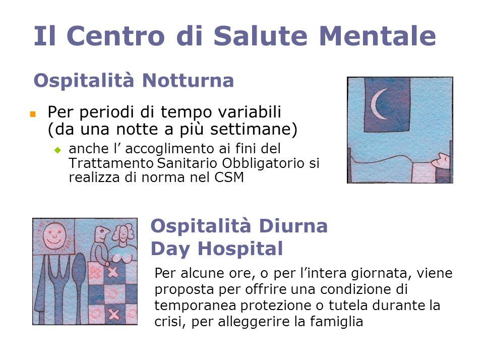 Il Centro di Salute Mentale