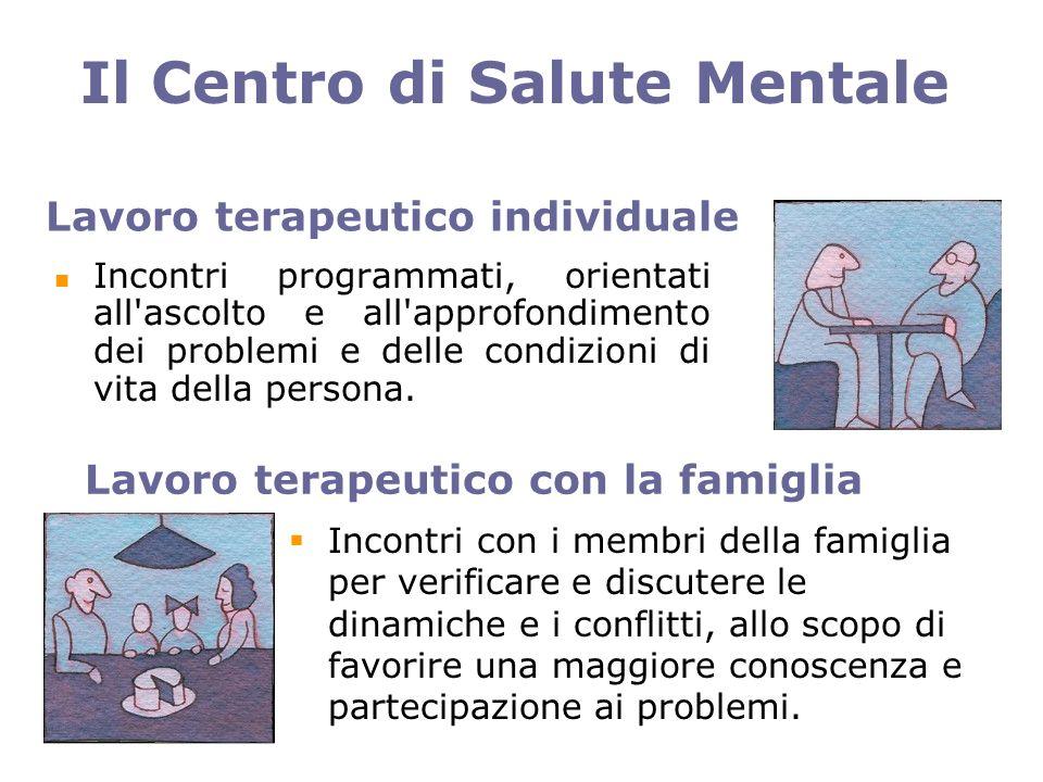 Lavoro terapeutico individuale