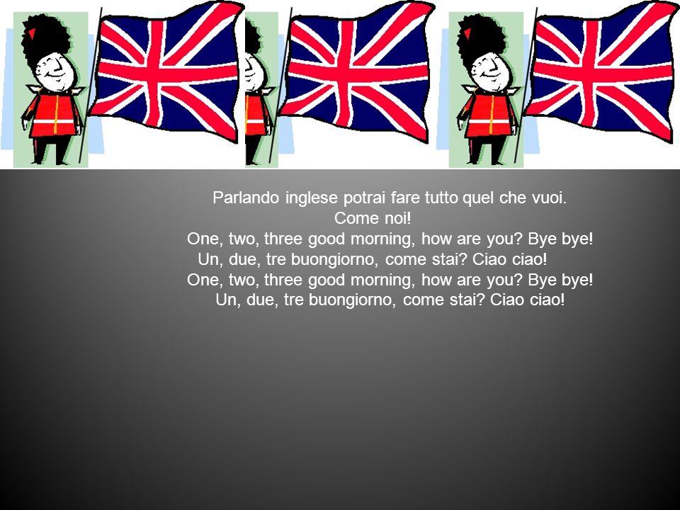 Parlando inglese potrai fare tutto quel che vuoi. Come noi!