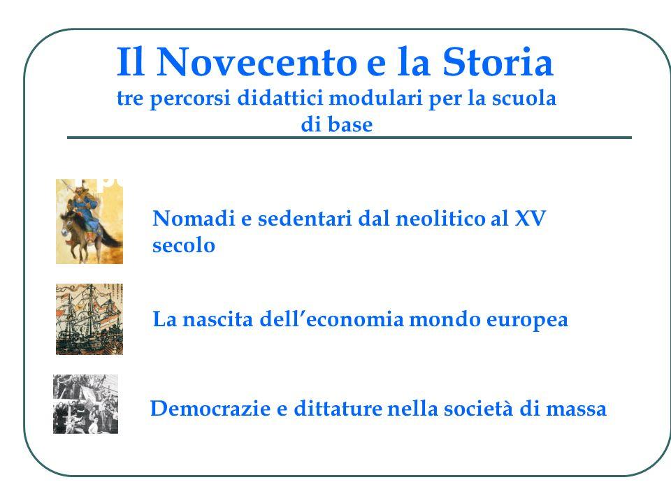Il Novecento e la Storia