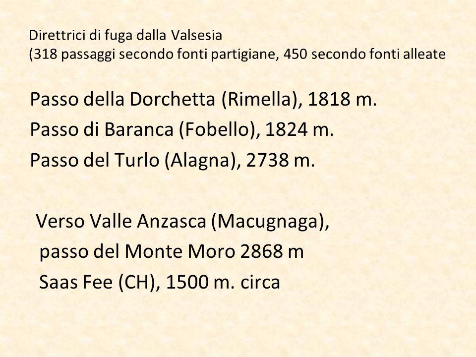Passo della Dorchetta (Rimella), 1818 m.