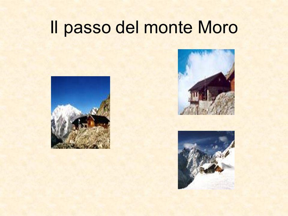 Il passo del monte Moro