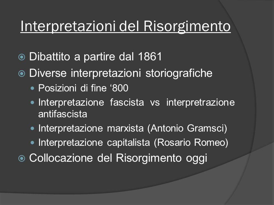 Interpretazioni del Risorgimento