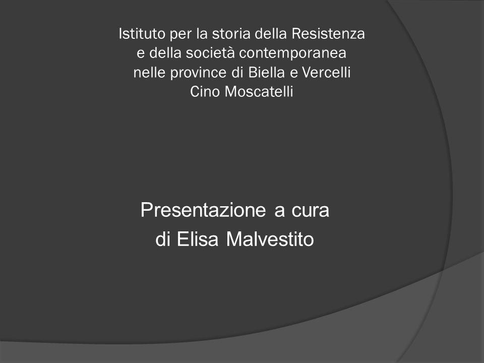 Presentazione a cura di Elisa Malvestito