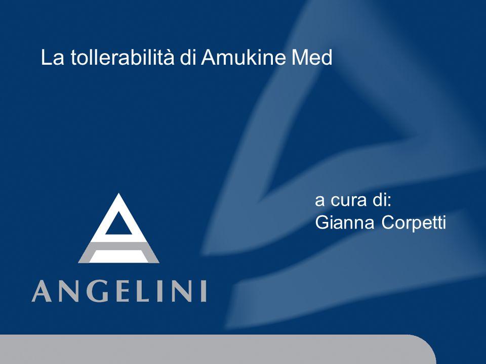 La tollerabilità di Amukine Med
