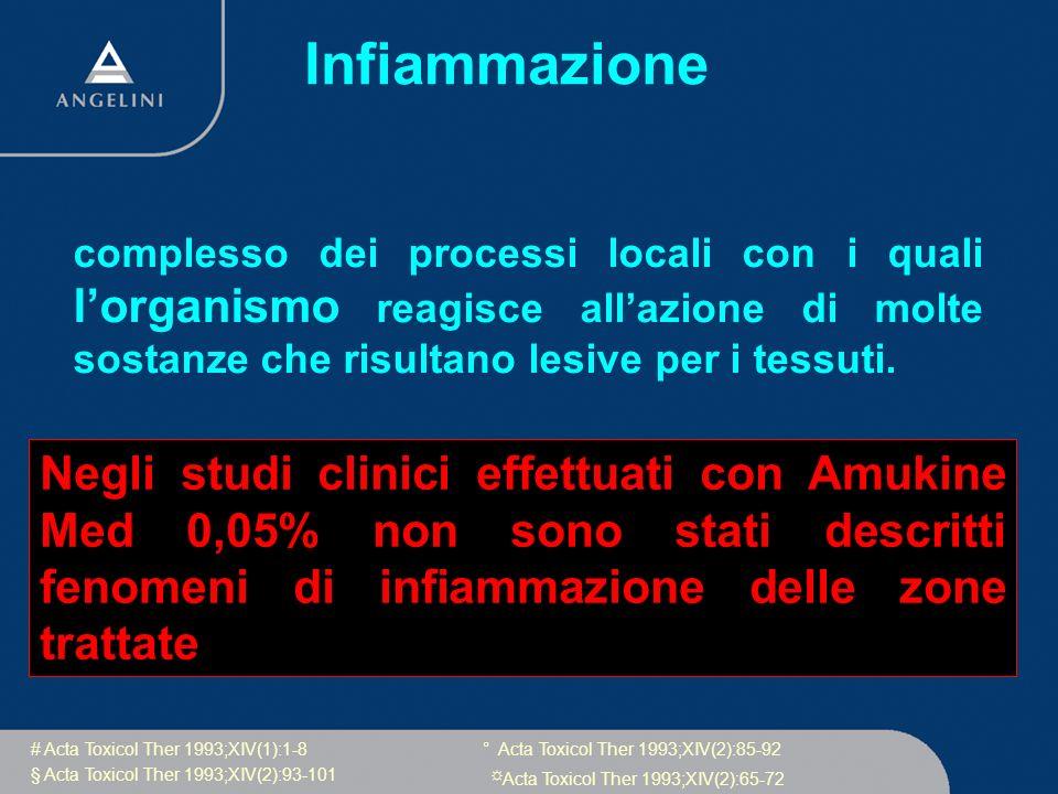 Infiammazione complesso dei processi locali con i quali l'organismo reagisce all'azione di molte sostanze che risultano lesive per i tessuti.