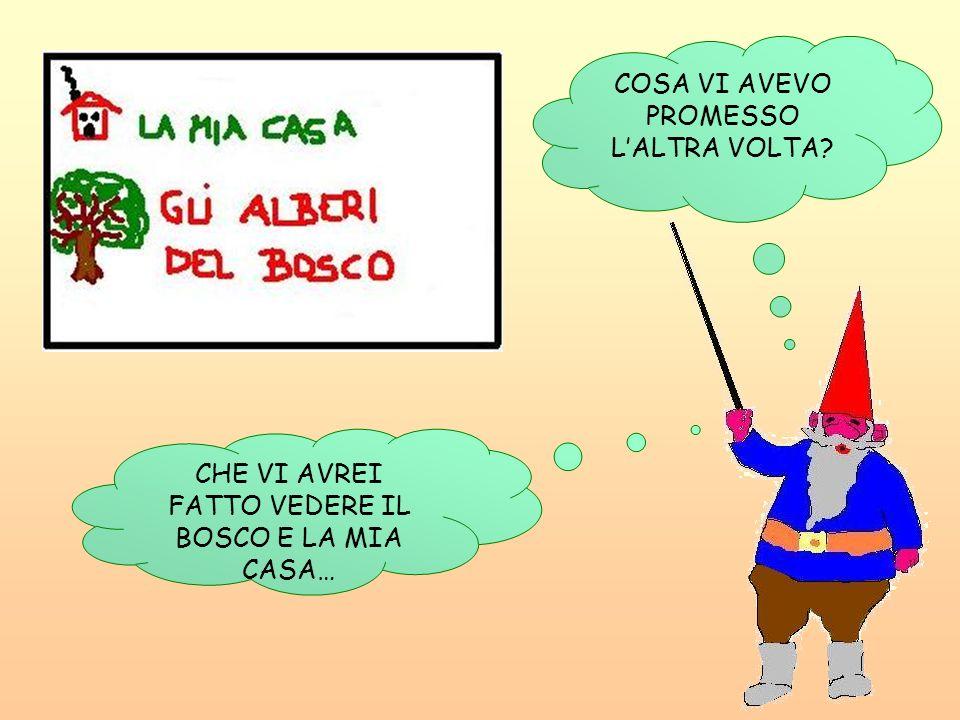 COSA VI AVEVO PROMESSO L'ALTRA VOLTA