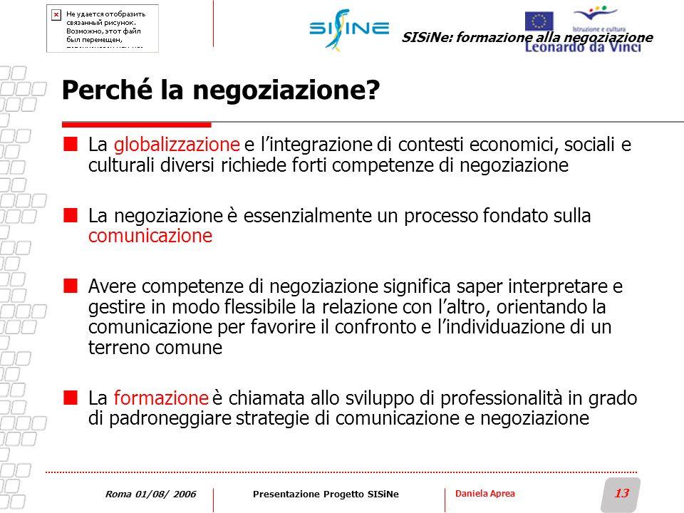 Perché la negoziazione