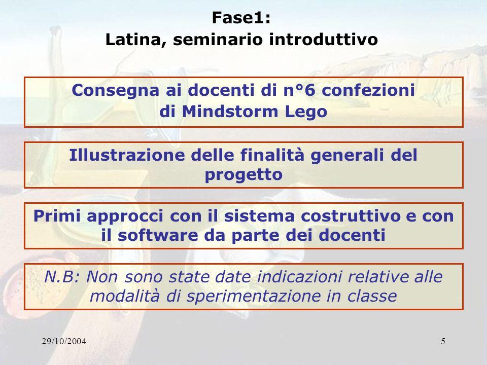 Latina, seminario introduttivo