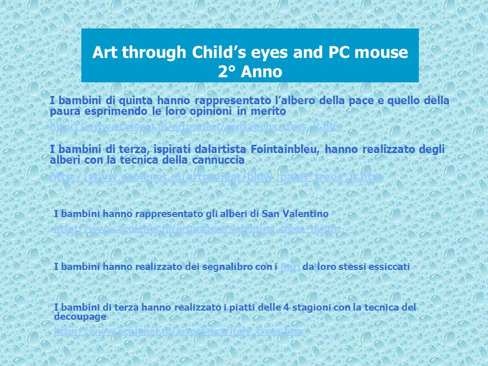 Art through Child's eyes and PC mouse