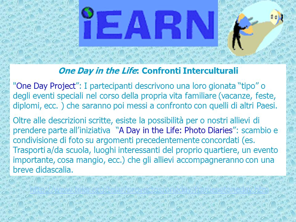 One Day in the Life: Confronti Interculturali
