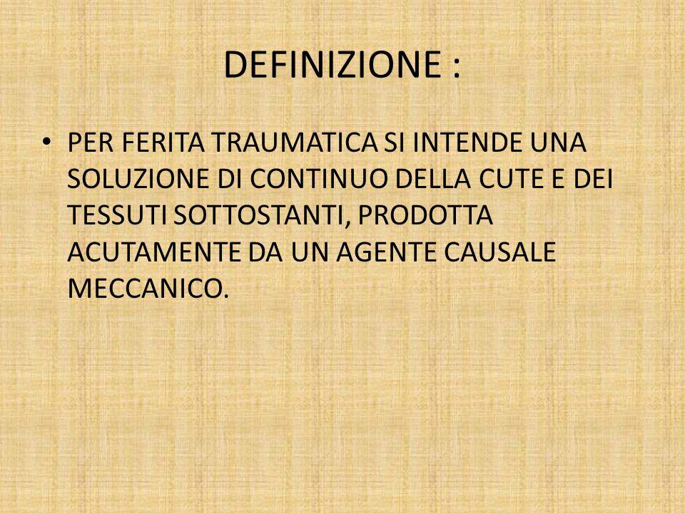 DEFINIZIONE :
