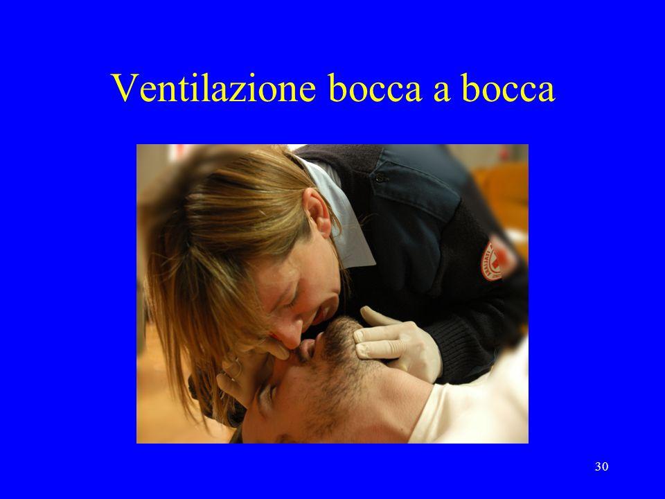 Ventilazione bocca a bocca