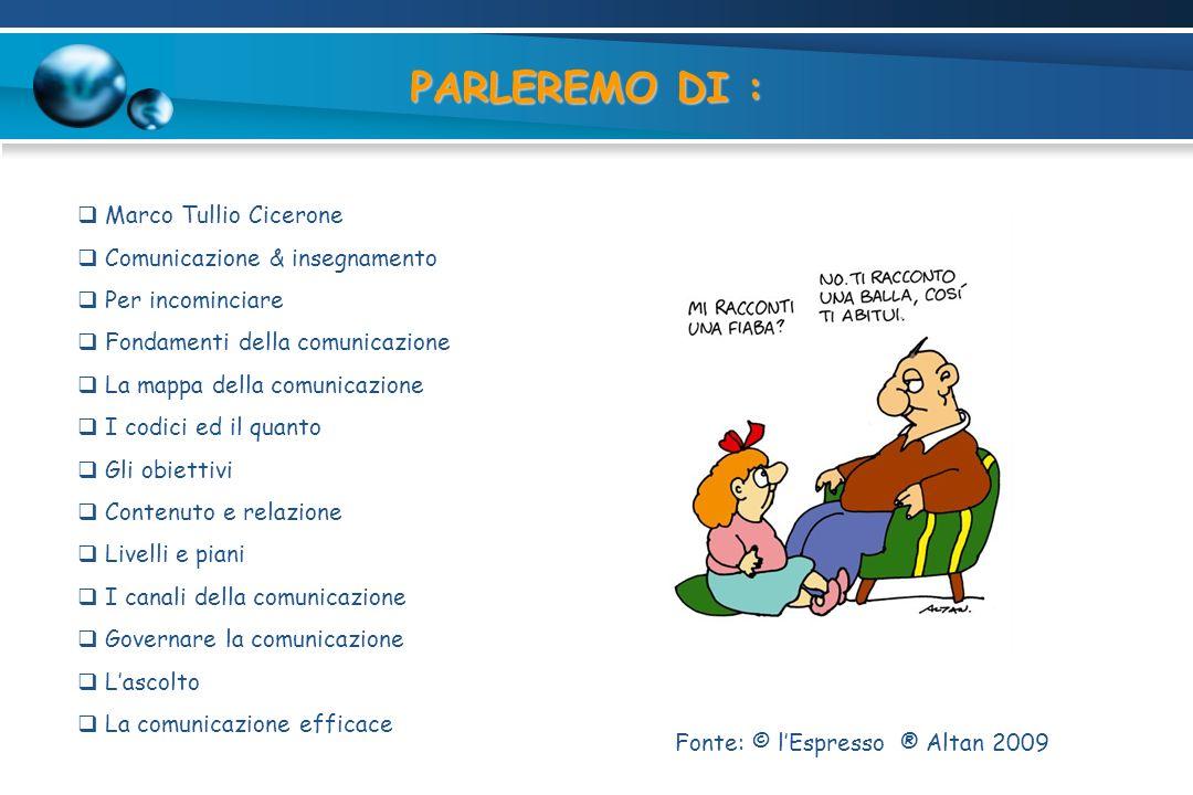 PARLEREMO DI : Marco Tullio Cicerone Comunicazione & insegnamento