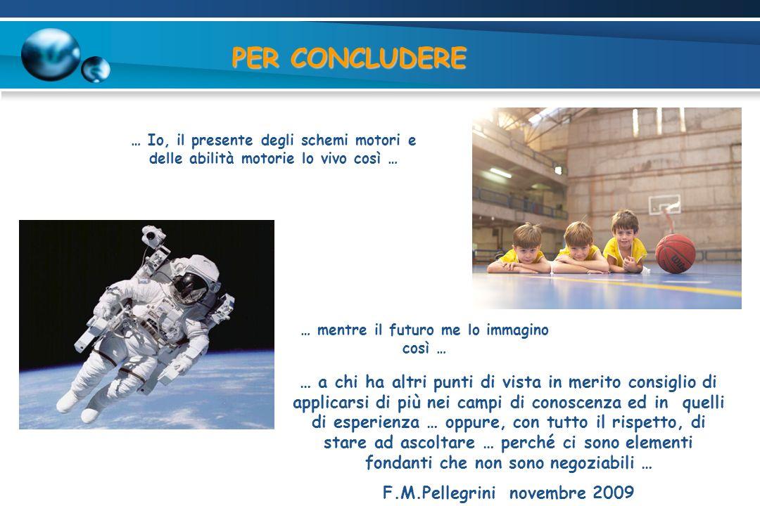 … mentre il futuro me lo immagino così … F.M.Pellegrini novembre 2009