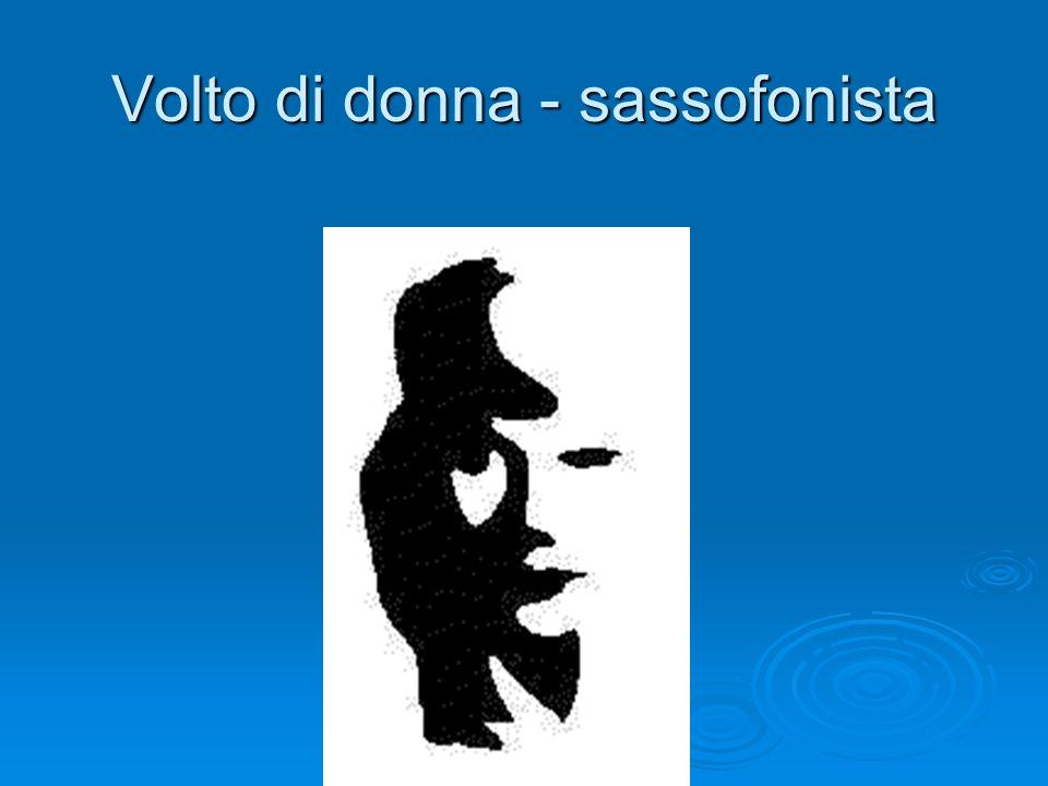Volto di donna - sassofonista