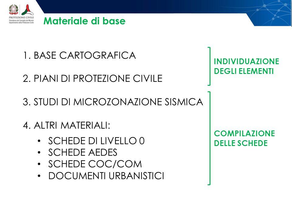 PIANI DI PROTEZIONE CIVILE STUDI DI MICROZONAZIONE SISMICA