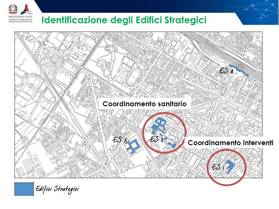 Identificazione degli Edifici Strategici