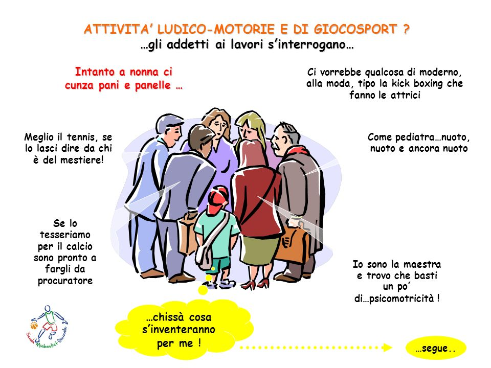 ATTIVITA' LUDICO-MOTORIE E DI GIOCOSPORT