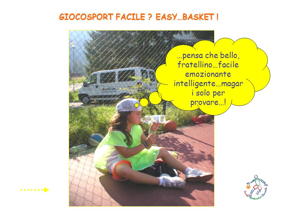 GIOCOSPORT FACILE EASY…BASKET !