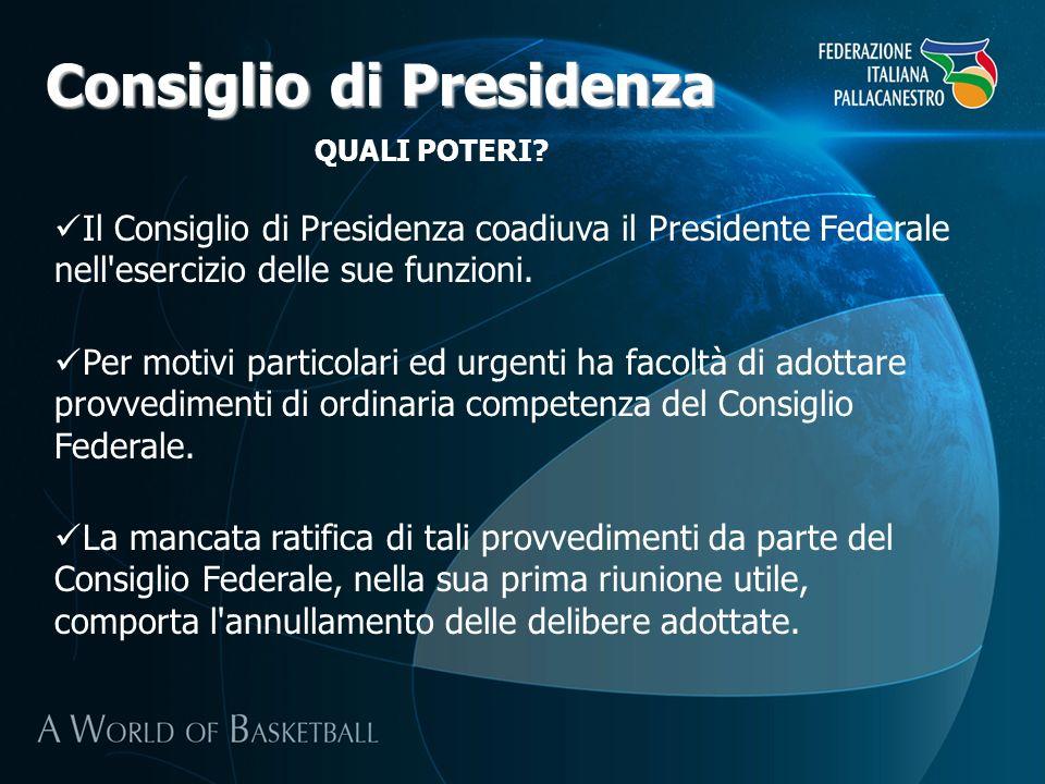 Consiglio di Presidenza