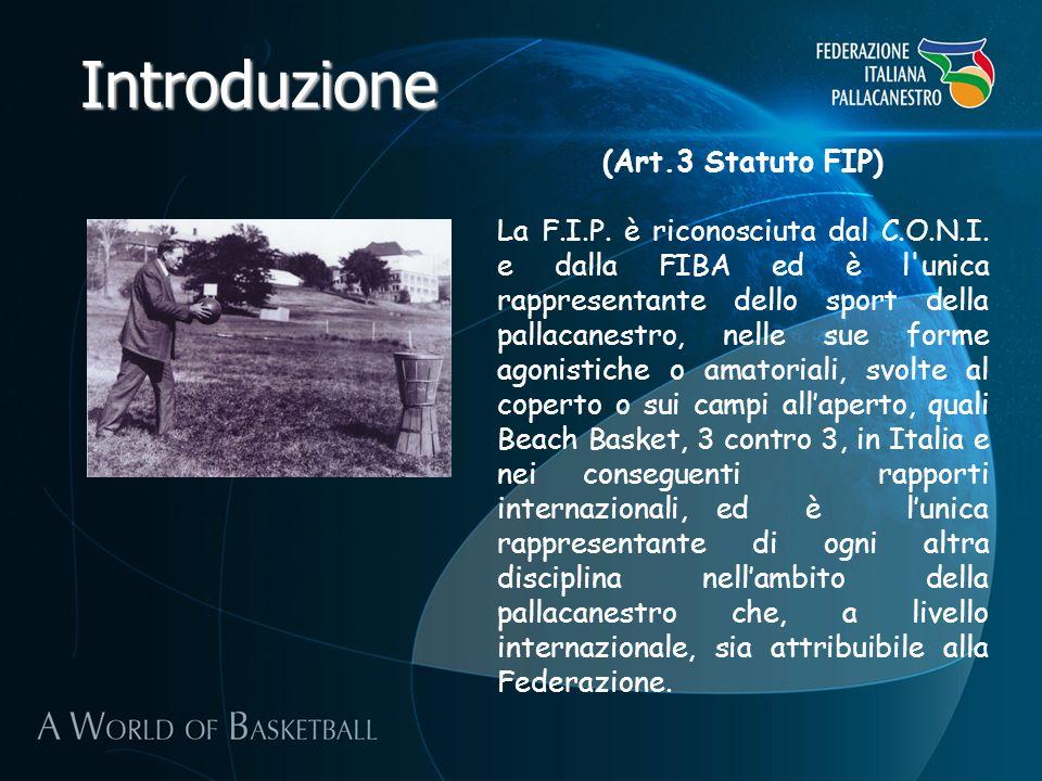 Introduzione (Art.3 Statuto FIP)