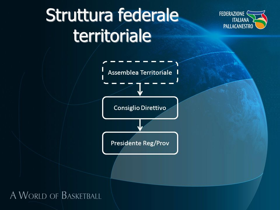 Struttura federale territoriale