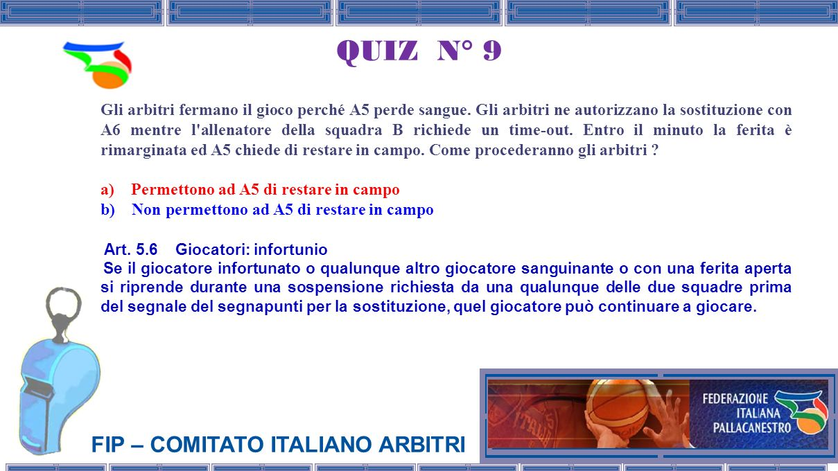 QUIZ N° 9