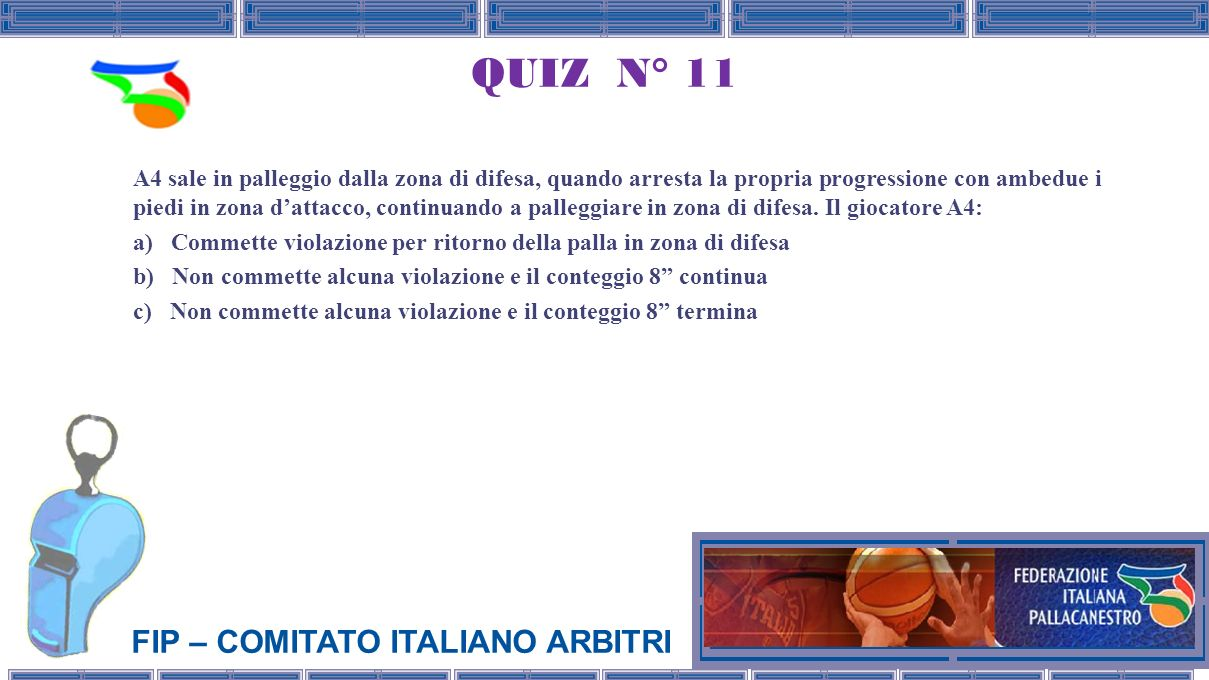 QUIZ N° 11