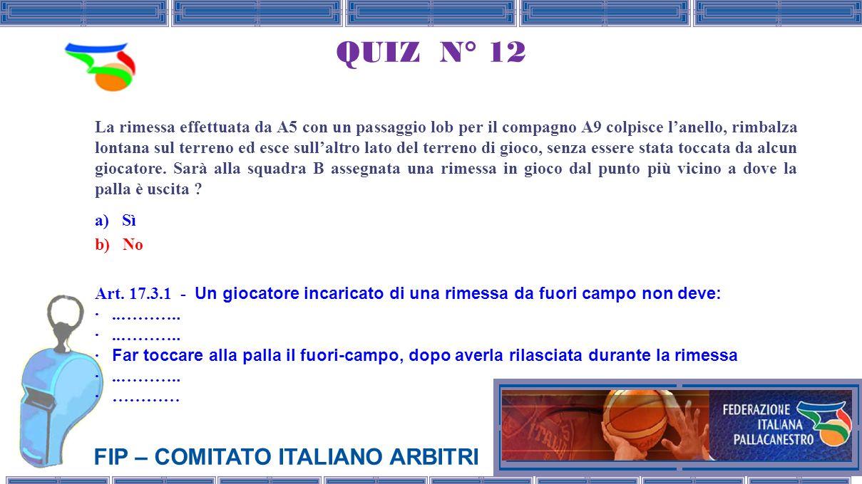 QUIZ N° 12