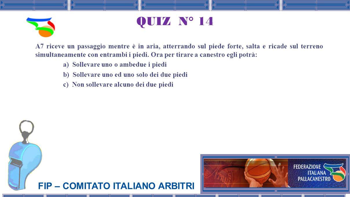 QUIZ N° 14