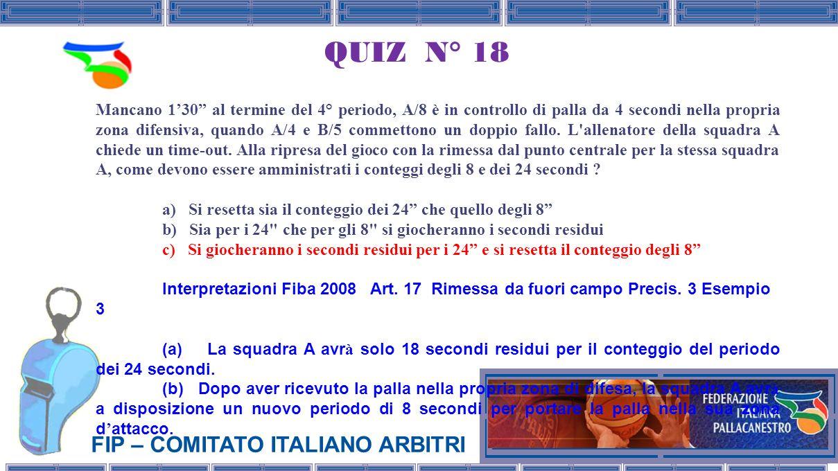 QUIZ N° 18