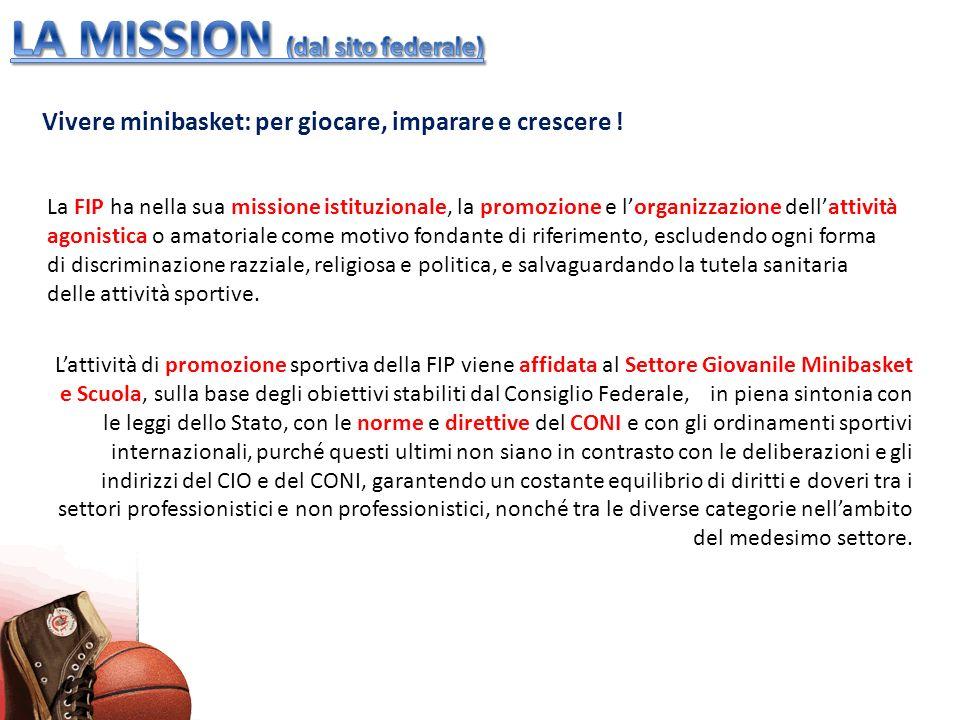 LA MISSION (dal sito federale)