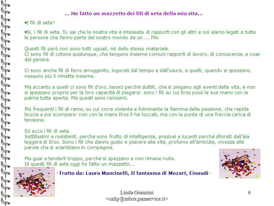 -Tratto da: Laura Mancinelli, Il fantasma di Mozart, Einaudi-