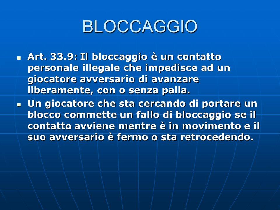 BLOCCAGGIO