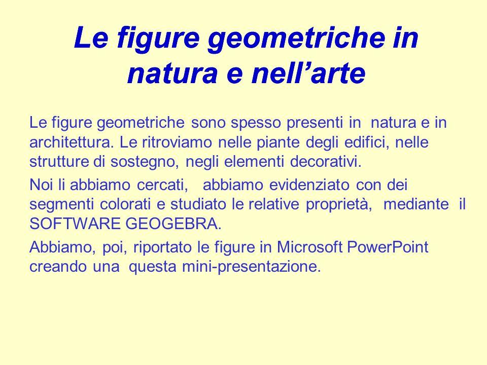 Le figure geometriche in natura e nell'arte