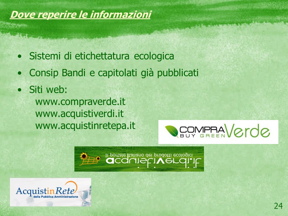 Sistemi di etichettatura ecologica