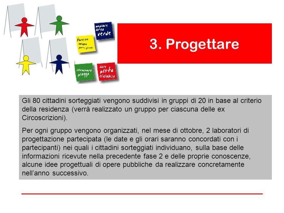 3. Progettare