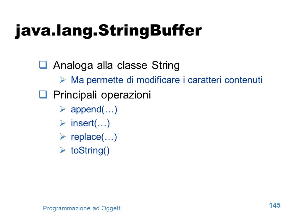 java.lang.StringBuffer