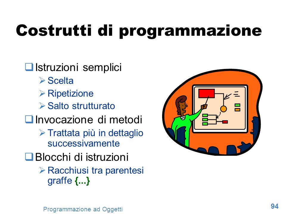 Costrutti di programmazione