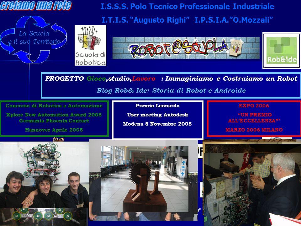 creiamo una rete I.S.S.S. Polo Tecnico Professionale Industriale