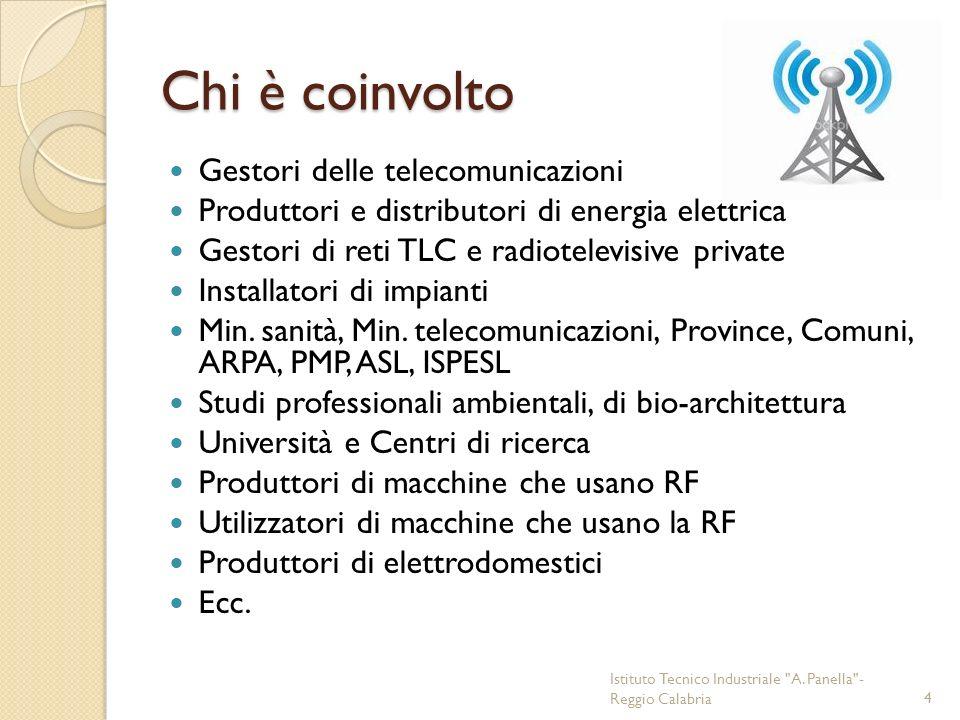 Chi è coinvolto Gestori delle telecomunicazioni